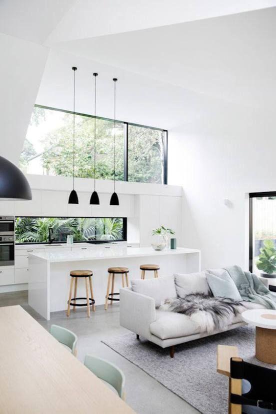 15 Dreamy Minimal Interiors | Home decor | House design, Interior