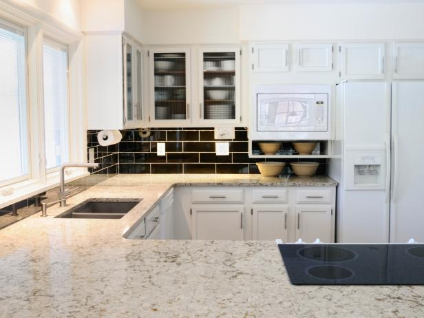 White Granite Kitchen Countertops: Pictures & Ideas From HGTV | HGTV