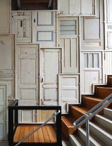 Door DIY Ideas, Repurposed Doors - 10 New Uses for Old Doors - Bob Vila