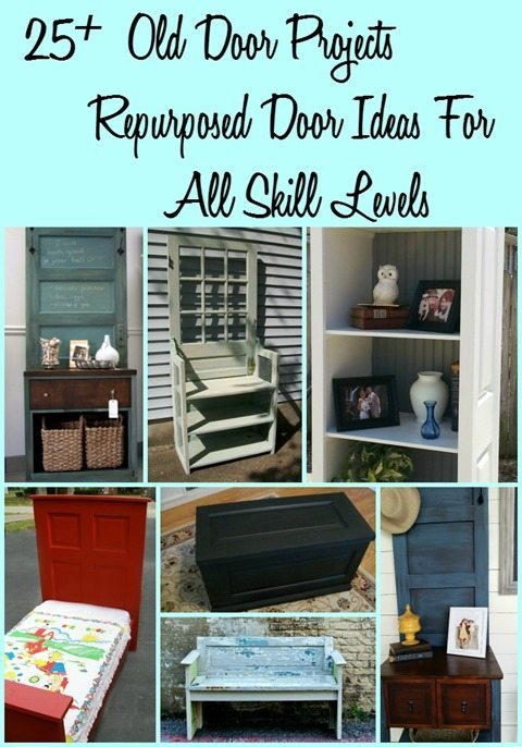 Old Door : Project Ideas - My Repurposed Life®