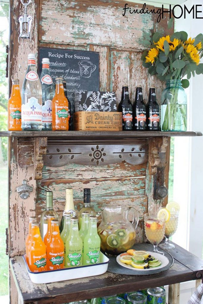 Ideas Of How To Reuse Old Doors 8