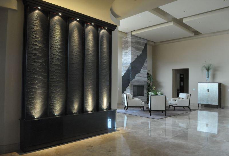 Indoor Wall Waterfall Designs Ideas House 5
