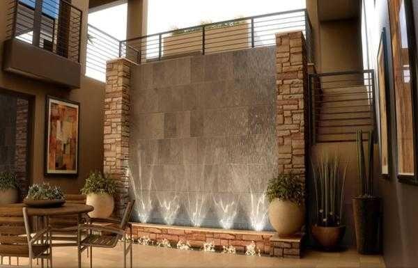 Indoor Wall Waterfall Designs Ideas House 8