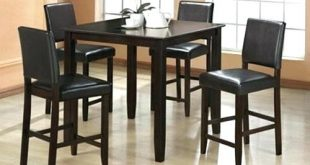 Discount Kitchen Tables Tall Black Kitchen Table Appealing High