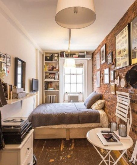 48 Inspiring Ideas Tiny Studio Apartment | Studio Apartment