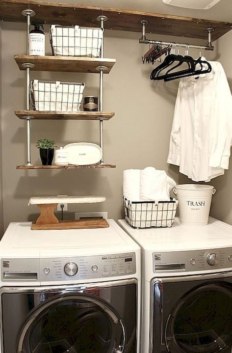 Best Inspire Laundry Room Organization Ideas (13) | Dream Home