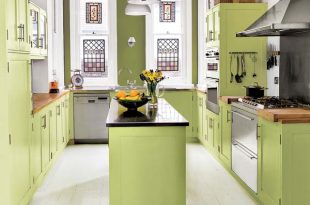 17 Adorable Kitchen Designs With Tones Of Vibrant Colors That You