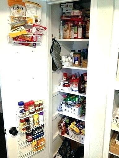 Kitchen Pantry Organization Products Narrow Pantry Organization
