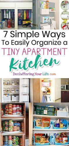 Small Apartment Kitchen Storage Ideas That Won't Risk Your Deposit