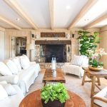 Living Rooms Design Ideas With Exposed Wooden Beams