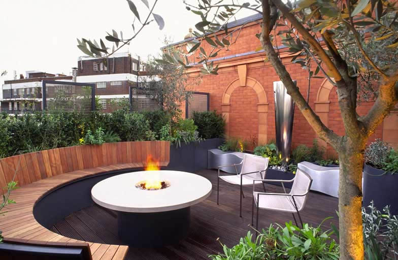 Roof terrace ideas, rewarding recreation of outdoor space