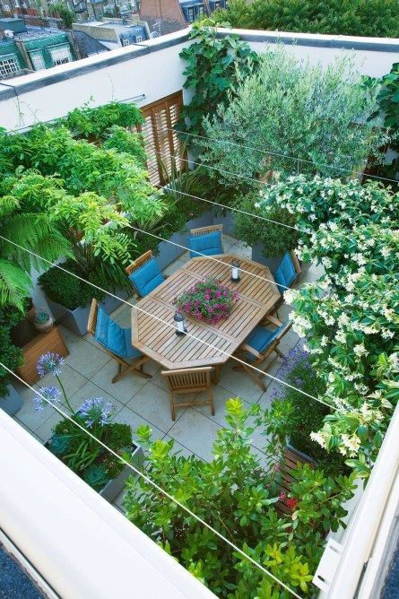 42 Lovely Garden Rooftop Ideas | Gardens | Rooftop terrace design