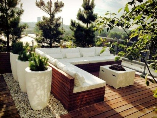 Lovely Garden Rooftop Ideas 10 | Garden&Terrace | Rooftop terrace