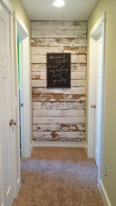 48 Lovely Rustic Hallway To Copy Now | WALLS | DIY Home Decor, Home