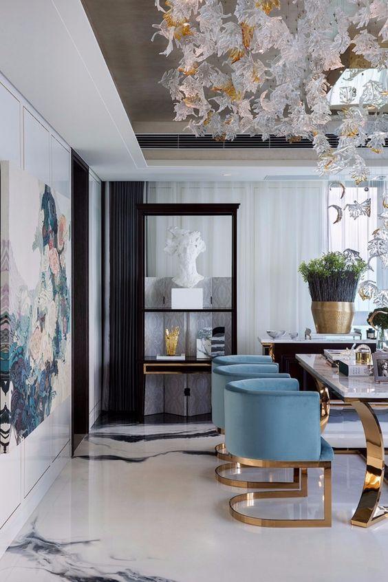 Contemporary Dining Room Ideas to Inspire You | INTERIOR DESIGN