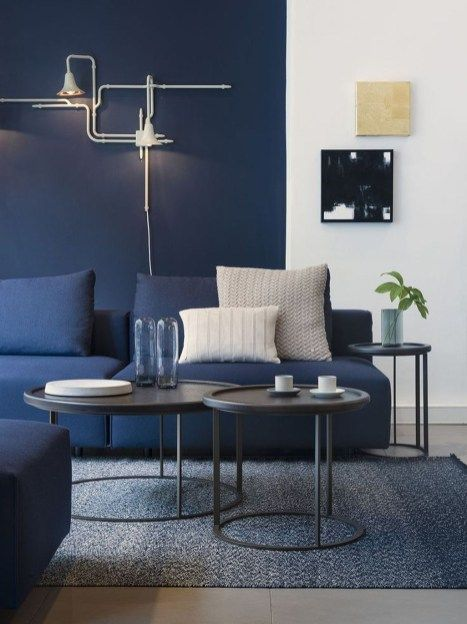 Cozy And Luxury Blue Living Room Ideas 29 | lounge ideas in 2018