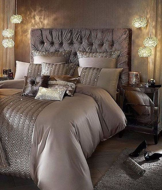 Luxury Champagne Bedroom Ideas