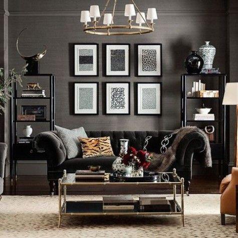 54 Masculine Living Room Design Ideas | Living | Living room designs
