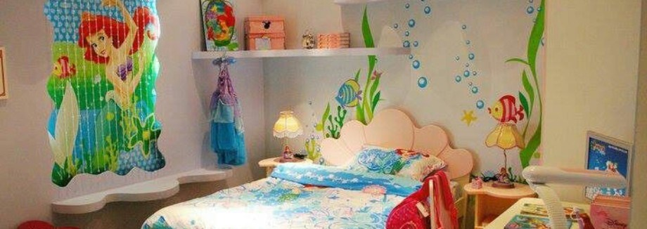 60 Cutest Mermaid Themes Ideas for Children Kids Room - DecOMG