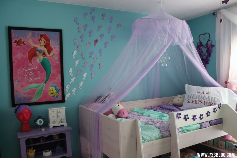 Mermaid Themes Ideas For Children Kids Room