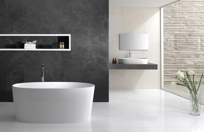Minimalist Modern Bathroom Designs