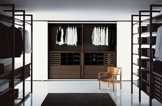 Modern Minimalist Walk-in Closet Innovative Design, Cabina Armadio