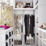 Minimalist Walk Closets Design Ideas