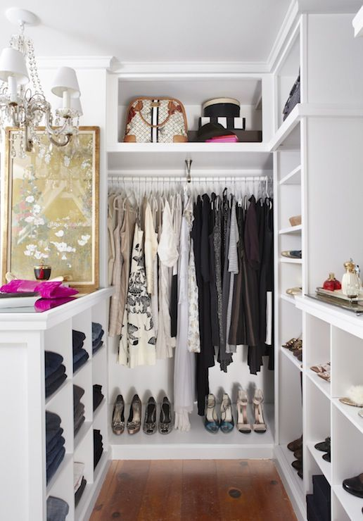 Minimalist Walk Closets Design Ideas