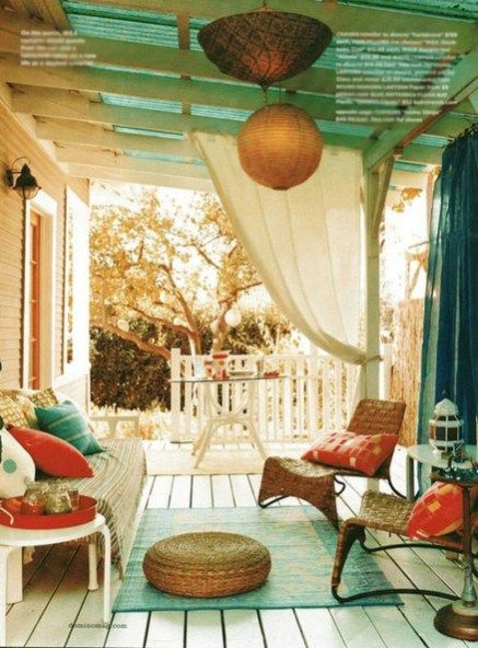 Modern And Cozy Porch Ideas 28 | For new home | Porch, Home, Outdoor