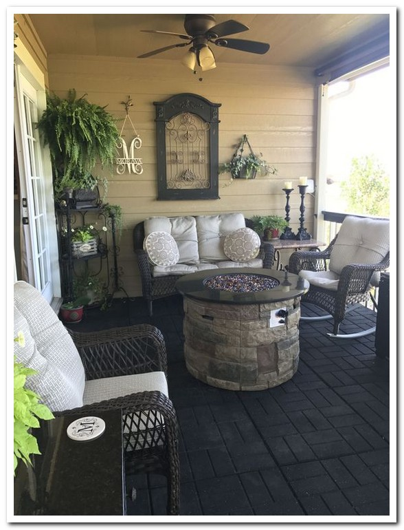 40 modern home decor ideas cozy farmhouse front porch 29