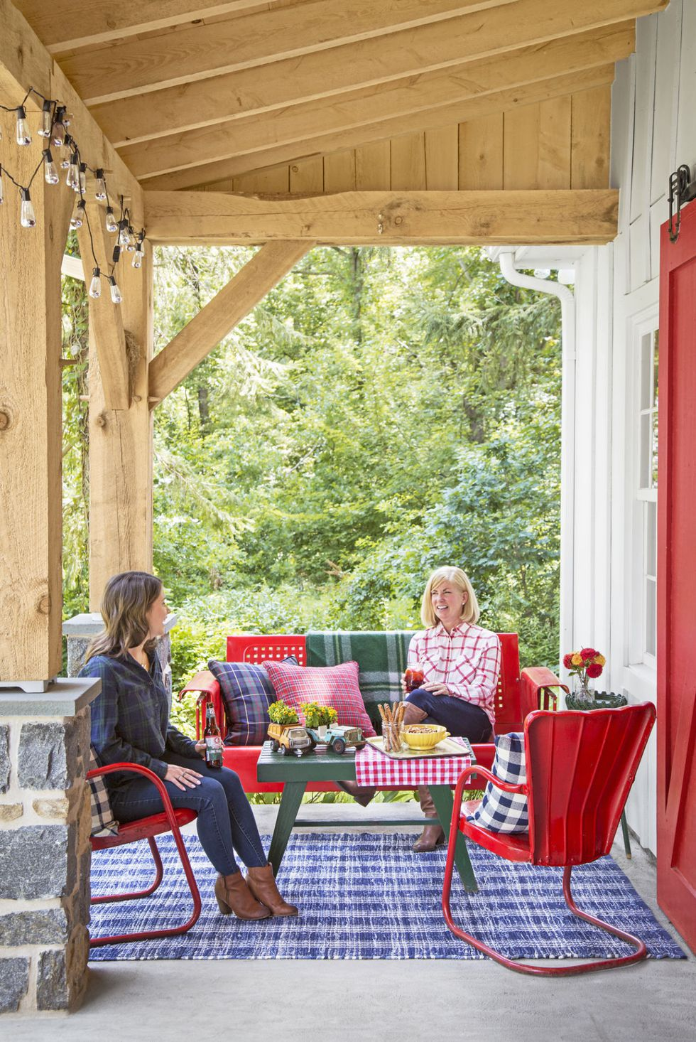 76 Best Patio Designs for 2019 - Ideas for Front Porch and Patio