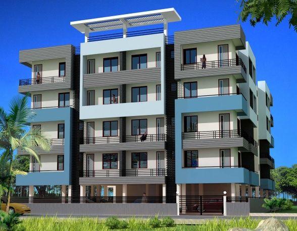 apartment building exterior colors | Category Apartment Designs