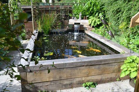 48 Modern Backyard Fish Pond Garden Landscaping Ideas | Outdoor and