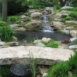 Modern Backyard Fish Pond Garden Landscaping Ideas