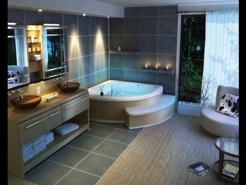 Modern bathroom design ideas from bathroomdesign-ideas.com - YouTube