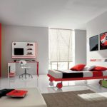 Modern Bedroom Designs Cheer Teenager