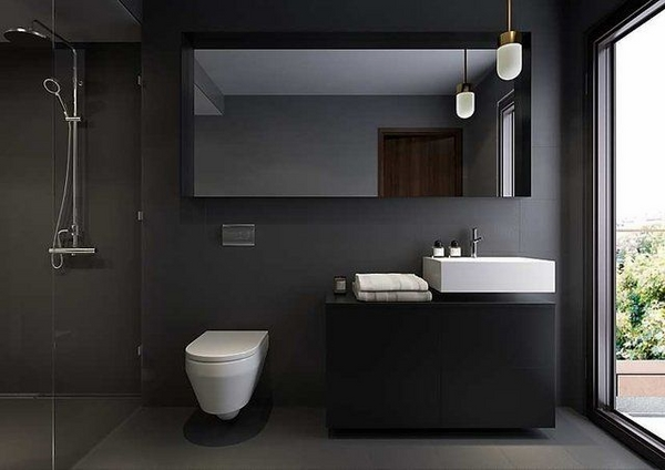 Modern bathroom colors - 50 Ideas how to decorate your bathroom