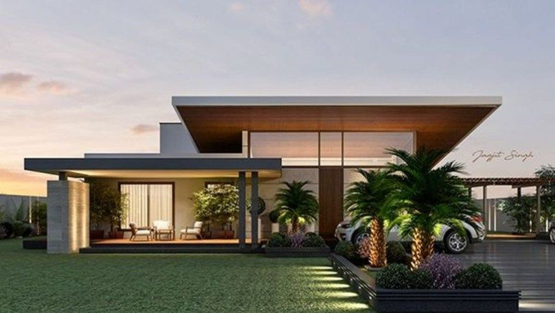 Modern Contemporary Urban House Ideas 1