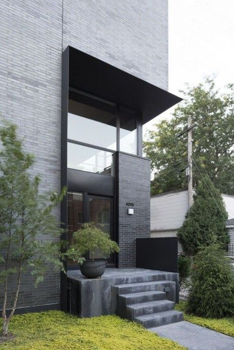 44 Amazing Modern Contemporary Urban House Ideas | Houses | Modern