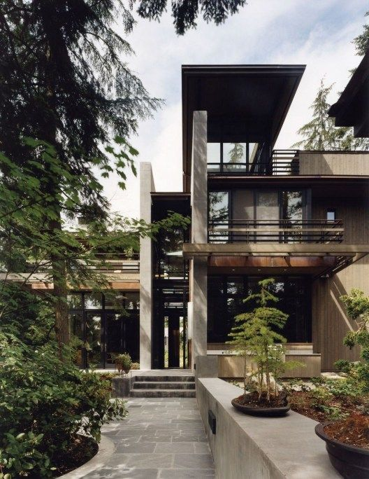 44 Amazing Modern Contemporary Urban House Ideas | Houses | House