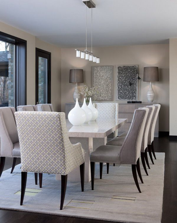 Modern Dinning Table Design Ideas 2