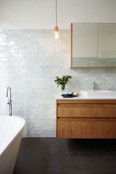44 Modern Elegant Tile Ideas for Your Home | Bathroom shower tile