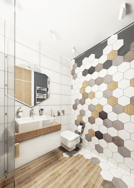 21 Bathroom Tile Ideas - FEMINIST