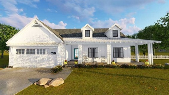 Top 10 Modern Farmhouse House Plans u2014 La Petite Farmhouse