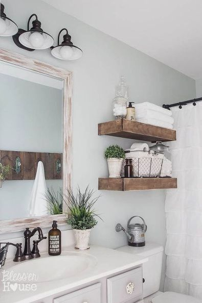 We've seen bathroom flips before, but this one is so fresh and