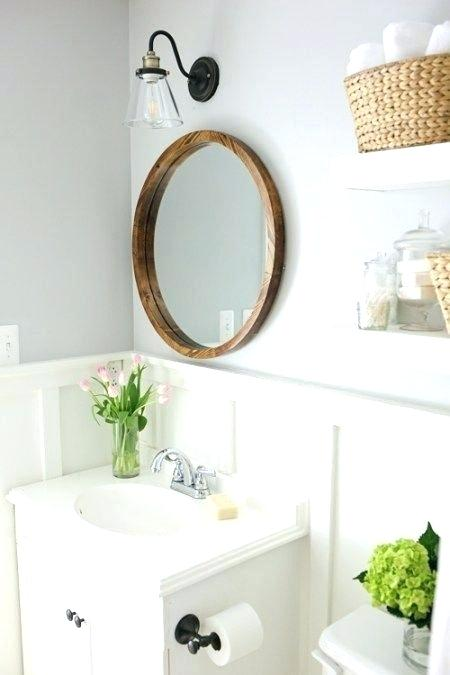 Modern Farmhouse Bathroom Makeover Decor Ideas 4