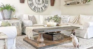 80 Elegant Furniture For Modern Farmhouse Living Room Decor Ideas