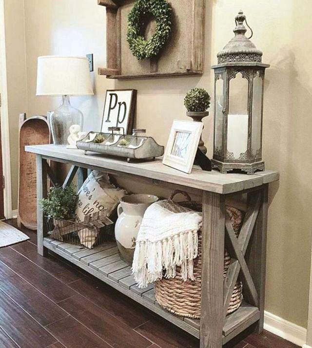 Living 31 Cozy Modern Farmhouse Living Room Decor Ideas | Gintohome