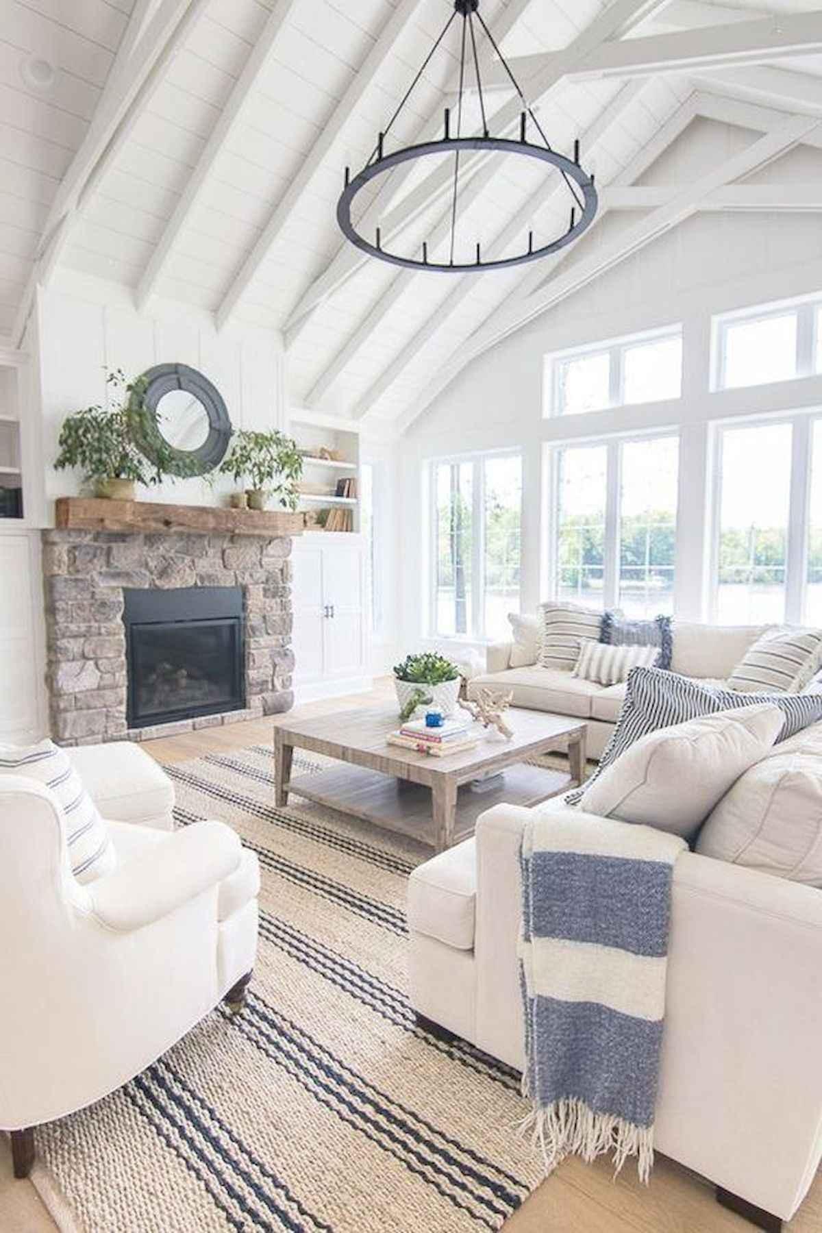 70 Elegant Modern Farmhouse Living Room Decor Ideas And Makeover