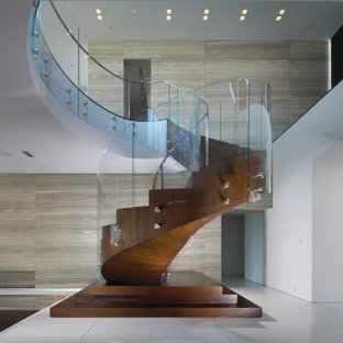 Modern Minimalist Staircase Ideas & Photos | Houzz